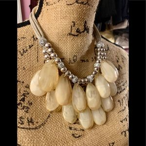*Anthropologie*Beautiful Beaded Statement Necklace